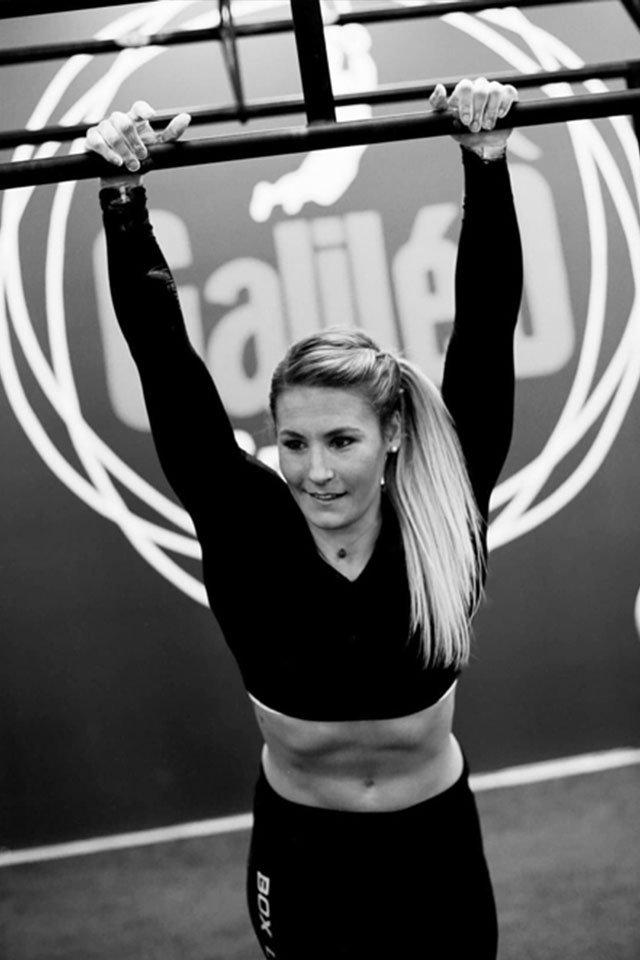Marie-Emilie, sportive de haut niveau