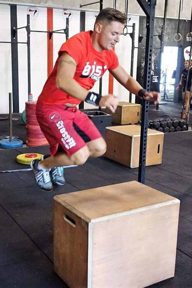 Nicolas, spécialiste et amoureux de CrossFit
